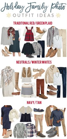 So excited to bring you this post! You guys loved the Fall one, so I made a Holiday/Winter one for those taking holiday photos! For… Reason I {Love Fall Family Picture Outfits, Winter Family Pictures, Christmas Pictures Outfits, Family Photo Colors, Family Portrait Outfits, Family Photos What To Wear, Family Outfits, Holiday Photos, Christmas Outfits