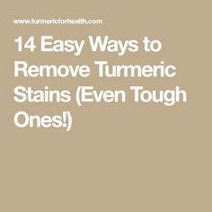 how to clean turmeric stains from skin