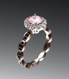 A personal favorite from my Etsy shop https://www.etsy.com/listing/197367045/classic-engagement-ring-morganite