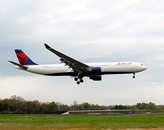First NWA A330 in Delta colors to land in ATL.