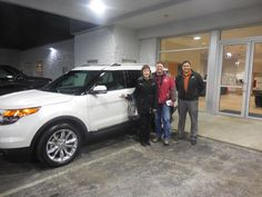 Matt Williams and the rest of us here at Court Street Ford would like to say congratulations to Gary and Catherine Wright of Herscher on the purchase of their 2015 Ford Explorer. Thank you for your business!