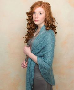 Traveling Gypsy Knit Shawl
