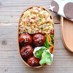 Japanese Lunch Box, Japanese Food, Kawaii Bento, Good Food, Yummy Food, Bento Recipes, Bento Box Lunch, Korean Food, Kids Meals