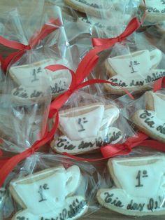 Biscoitos decorados personalizados Xícara