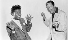 Little Richard and Bill Haley in 1956