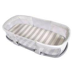 Summer Infant SwaddleMe® By Your Side® Sleeper - Gray Stripe : Target
