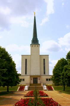 London LDS Temple