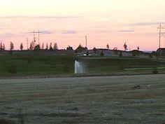 PT 19 NAMPA IDAHO. SUNSET OVER GOLF COURSE. JUNE 15