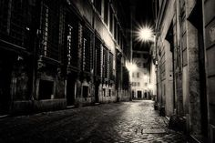 The streets at night: Rome.  Ken Lyons and I hit the streets late one night to find some coolio long exposure moments. We were not disappointed!   I love this perspective the monochrome mystery of it all... and the deserted feeling. It's kind of spooky gritty and historic all at once.   I'm in Germany now...  moving a little slowly because I tweaked my back! So inconvenient. But the hubs is here so I'm alllll good. We spent a couple of nights in Munich and today we hop in a car and hit the…