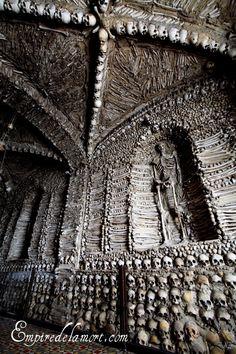 Campo Maior, Portugal ossuary chapel (Capela dos Ossos)