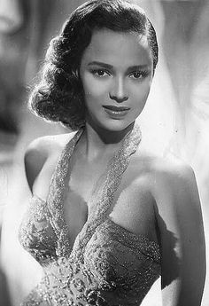 Dorothy Jean Dandridge (November 9, 1922 – September 8, 1965) American Actress & Singer, 1st African-American Nominated for Academy Award for Best Actress. Performed as Vocalist in venues such as Cotton Club & Apollo Theater. via Wikipedia http://media.tumblr.com/tumblr_lb6f6c2YFH1qdlamm.jpg.