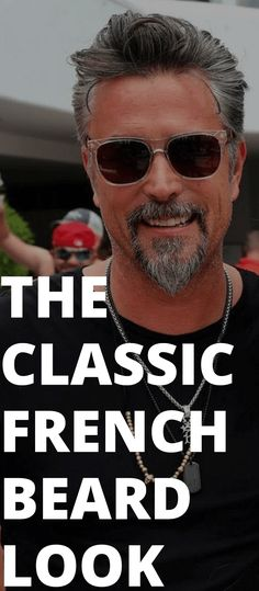 The Classic French Beard Look