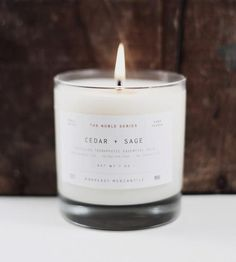 Cedar & Sage Man Candle  by Manready Mercantile on Scoutmob Shoppe