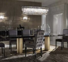 #dining_room #table #furniture #interior #design #ardeco #artdeco обеденный стол DV Home Douglas, Douglas_T