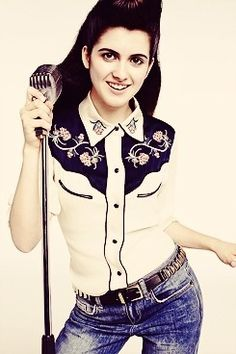 Laura Marano/Songwriter Inspired Photoshoot-Elvis Presley