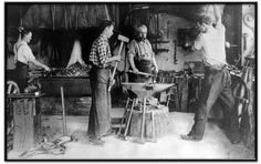 Blacksmith Image, Blacksmith Shop, Jpg, Old Pictures, Will Smith, Metal Working, The Past, Old Things, Iron
