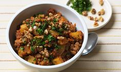 A delicious dish made using the South American staple quinoa.
