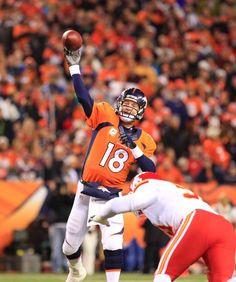 Peyton Manning - Broncos vs Chiefs (11 17 13) 4a055f195