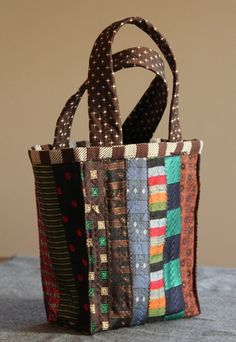 crafts made from ties | made from vintage ties | Crafts