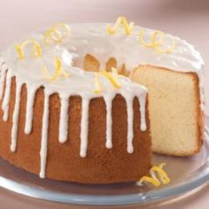 Lemon Chiffon Cake: