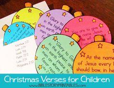 Bible Verse Printables for Kids