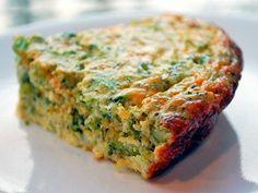 Crustless Broccoli Quiche Recipe | Healthy Recipes Blog Crustless Broccoli Quiche, Healthy Quiche, Frittata, Vegetable Quiche, Healthy Brunch, Happy Healthy, Spinach, Quiches, Skinny Recipes