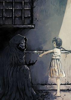 La muerte en los ojos de una niña
