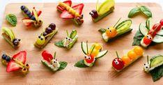 Fruit & Vegetable Bug Snacks for Envirokidz - www. - - Fruit & Vegetable Bug Snacks for Envirokidz – www.c… Fruit & Vegetable Bug Snacks for Envirokidz – www. Food Inc, Bug Snacks, Healthy Snacks, Fruit Snacks, Kids Fruit, Eat Healthy, Easy Meals For Kids, Kids Meals, Easy Recipes For Kids