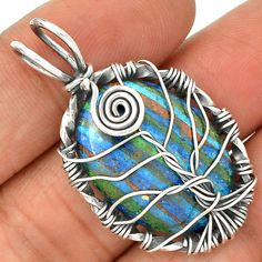 Rainbow Topaz 925 Sterling Silver Pendant Jewelry PP1555 | eBay