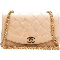 ec0ab9e3604d Buy your diana leather handbag Chanel on Vestiaire Collective
