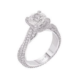 House of Baguette Pave Intertwine Ring WR5202 stock number. This is my engagement ring! 2 carats please :)