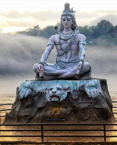🕉️Lord Shiva Statue at Parmarth Niketan Ashram, Rishikesh. Lord Shiva Statue, Lord Shiva Pics, Lord Shiva Hd Images, Krishna Statue, Lord Shiva Hd Wallpaper, Angry Lord Shiva, Saraswati Goddess, Kali Goddess, Goddess Art