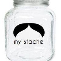 My Stache Jar.