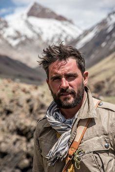 Walking the Himalayas explorer Levison Wood on how he nearly died in Nepal.dv.