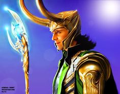 Loki - Burdened with Glorious Purpose XVI by AdmiralDeMoy on DeviantArt
