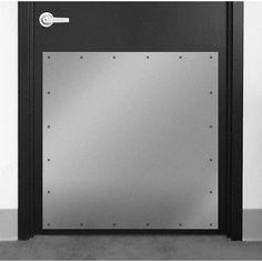 "DON-JO MFG INC. Kick Plate Finish: Duronatic Bronze Aluminum, Size: 10"" H x 46"" W x 0.05"" D"