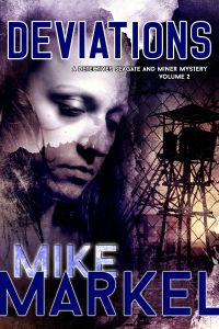 """FREE Suspense in """"Deviations"""" by Mike Markel  Deviationsby Mike Markel $2.99 - FREE Oct 4-7, 2014Former police detective Karen Seagate is drinking herself to oblivion and having dangerous sex with losers from the bar when the new police chief tracks her down. The brutal rape and murder of a state senator by a lone-wolf extremist gives Seagate a chance to return to the department, but the new chief has set down some rules, and Seagate is not good with rules. At this poi"""
