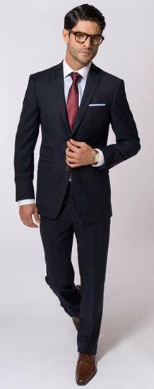Dark Charcoal Suit by GP Mazzotta
