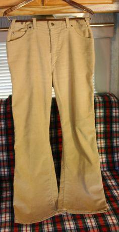 f50d64a4e309 Fantastic Late 70 s Levis Movin On Line Super Soft Cotton Flared Bottom  Men s Pants Size 36 30 Near Perfect Condition! Men s PantsVintage ...