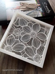 This layered papercut by Naho Katayama will be featured in the Paper Artist Collective Oslo Pop-Up Shop. Read more about the shop, its participants, and how you can be considered for membership in the Collective.