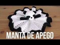 How to Crochet a Baby Blanket Stuffed Animal - Lovey Blanket Point Granny Au Crochet, Crochet Lovey, Crochet Baby Cardigan, Crochet Amigurumi, Crochet Pillow, Crochet Gifts, Crochet Toys, Motif Mandala Crochet, Lidia Crochet Tricot