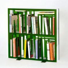 Bookshape bookcase by Lettera G   www.lovethesign.com/uk