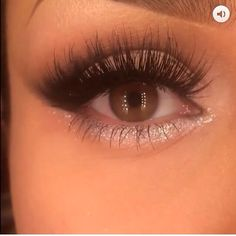 Love the lashes and the shimmer.