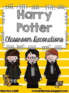 Classroom Decorations Harry Potter                                                                                                                                                      More