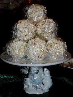Grandma's Marshmallow Popcorn Balls