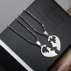 ▶ Best Friends and Lover Couple Puzzle Necklaces | Double necklaces for boyfriend and girlfriend ✔ Low prices, high quality ✈ FREE WORLDWIDE SHIPPING!