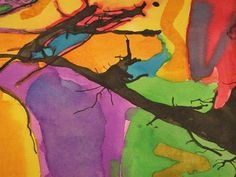 Artsonia Art Museum :: Blown ink and wate colours