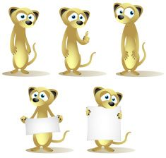 stock-illustration-9673011-collection-de-dessin-animé-meerkats.jpg 235 × 224 pixels