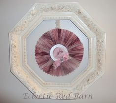 Eclectic Red Barn: Pink Lady Frame