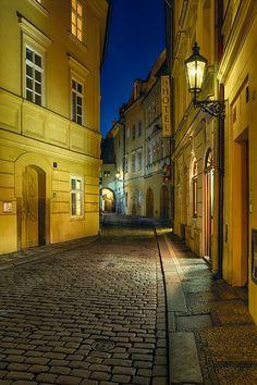 A Night in Prague